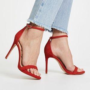 Sam Edelman Ariella Strappy Red Heels Sz 9